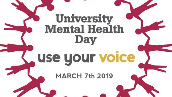 The University Mental Health Day logo