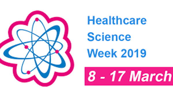 The Healthcare Science Week 2019 logo
