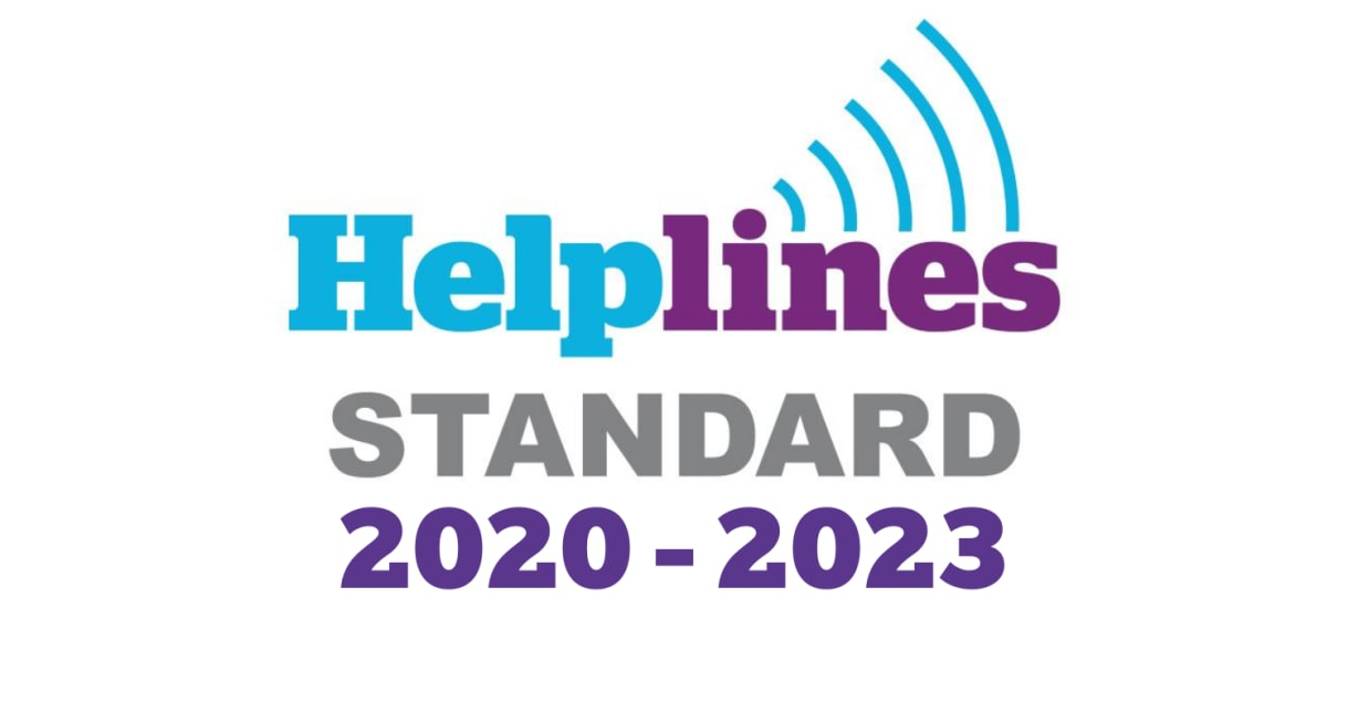 Our Support Matters Helpline is successfully re-accredited
